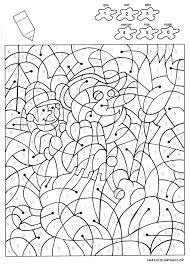 17 best ideas about coloriage magique noel on pinterest noel
