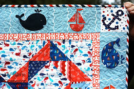 Nautical Quilts My Fabric Obsession Another Nautical Finish