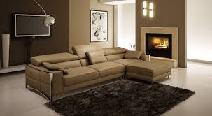 canape d angle design cuir deco in canape d angle design en cuir marron sheyla sheyla