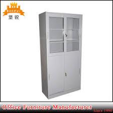 Sliding Door Bookcase China Steel Office Furniture Glass Sliding Door Bookcase File