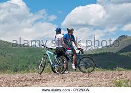 Chair Cycle Utah Sundance Resort Summer Mountain Bike Loaded On Chair Lift