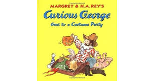 curious george costume party margret rey