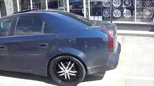 cadillac cts 20 inch wheels hillyard custom tire 2005 cadillac cts 20 inch black rims and