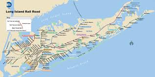 New York Bus Map by Map Of Nyc Commuter Rail Stations U0026 Lines