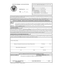 10 best images of examples of bid proposal forms sample
