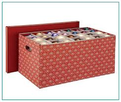 ornament storage box with 40 compartments