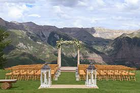 affordable wedding venues in colorado san overlook telluride colorado 1500 2 500 visit