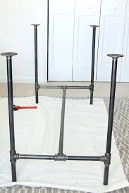 Metal Work Tables Metal Workbench Legs How To Build A Workbench With Butcher Block