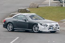 mercedes beamer spied 2017 mercedes benz sl class r231 facelift germancarforum