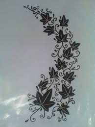 lovely leaf vine tattoo design tattooshunter com