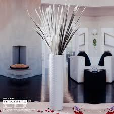 White Ceramic Floor Vase Simple Fashion Floor Vases Porcelain Decoration Of Household