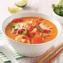 cuisine à la mijoteuse soupe thaïe aux crevettes à la mijoteuse recettes cuisine et