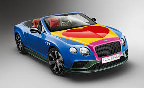 bentley coupe blue sir peter blake designs a bentley for charity u2013 news u2013 car and