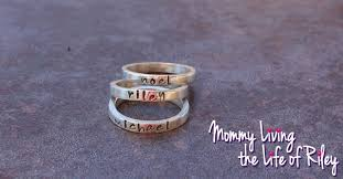 personalized stackable rings review personalized sterling silver rings to keep to your