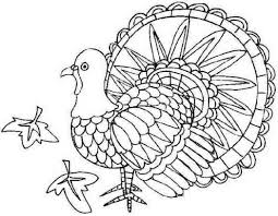 printable thanksgiving turkey coloring pages for little 571395