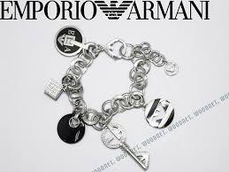 armani bracelet silver images Woodnet emporio armani silver bracelet x black emporio armani jpg