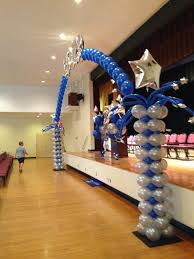 this balloon decor was for a cradle ceremony yelp