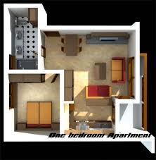 Difference Between Studio Apartment And One Bedroom - Design one bedroom apartment