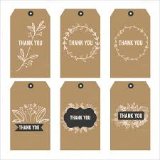 Thank You Tags Wedding Favors Templates by Favor Tag Template 26 Free Printable Vector Eps Psd Format