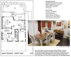 family floor plans modern family dunphy floorplan house plans modern