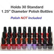 acrylic nail polish table counter display rack stand spa beauty