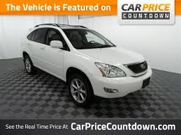 2008 lexus rx 350 review 2008 lexus rx350 awd review best used car deals at car price