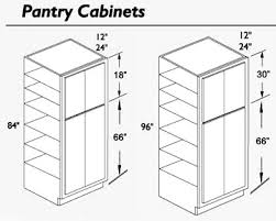 12 Inch Wide Pantry Cabinet Pre Finished Raised Panel Oak Kitchen Cabinets
