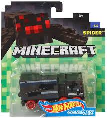 minecraft car wheels minecraft spider 164 diecast character car 56 mattel