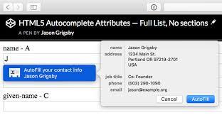 html input pattern safari autofill what web devs should know but don t cloud four
