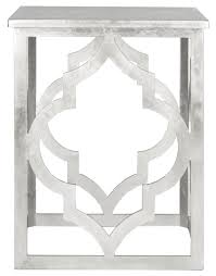Silver Accent Table Amh1508a Accent Tables Furniture By Safavieh