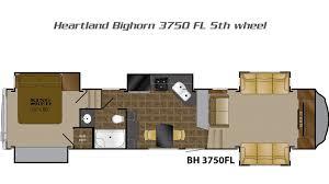 Forest River 5th Wheel Floor Plans Bighorn 5th Wheels By Heartland Rv