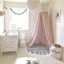 schöne babyzimmer traumhafte baldachin betthimmel vorhang rosa schöne