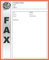 fax cover letter fax cover sheet microsoft word global fax cover