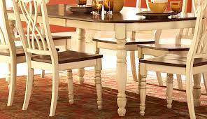 furniture stunning dining room sets table round white dinette