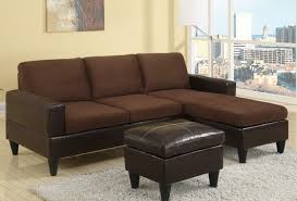Microfiber Reversible Chaise Sectional Sofa Our Living Room Furniture