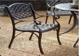 Wrought Iron Patio Chairs With Spring  Outdoor Chair Furniture - Outdoor iron furniture
