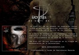sad eyes chronicle the tormented struggles of a mind self