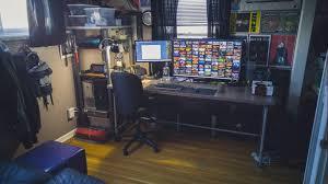 Computer Gaming Room 4k Pc And Wiiu Gaming Battlestation On The Cheap