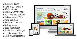12 best ecommerce themes for sports website