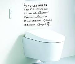 wall ideas bathroom rules wall art toilet rules bathroom