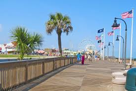 Myrtle Beach Boardwalk Map Myrtle Beach And Low Country