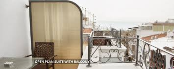 open plan suite with balcony hotel amira istanbul boutique hotel