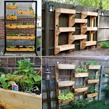 How To Build A Vertical Garden - how to make a vertical herb garden pictures photos and images