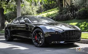 aston martin vanquish matte black aston martin rapide s with cec forged wheels and black out whip