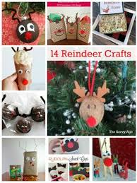 Kids Reindeer Crafts - fun diy 14 christmas reindeer crafts for kids u0026 adults the