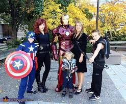 Avengers Halloween Costumes Avengers Family Costume Photo 2 4