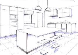 comment dessiner une cuisine dessiner sa cuisine en 3d gratuitement 4 avec charmant maison