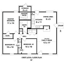 house plans 3 bedroom simple 3 bedroom floor plans processcodi