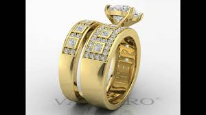 Vancaro Wedding Rings by Vancaro Heart Shape Wedding Ring Set For Women Youtube