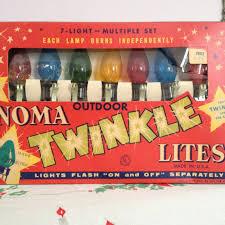 vintage lights noma twinkle lites by digginfortreasure